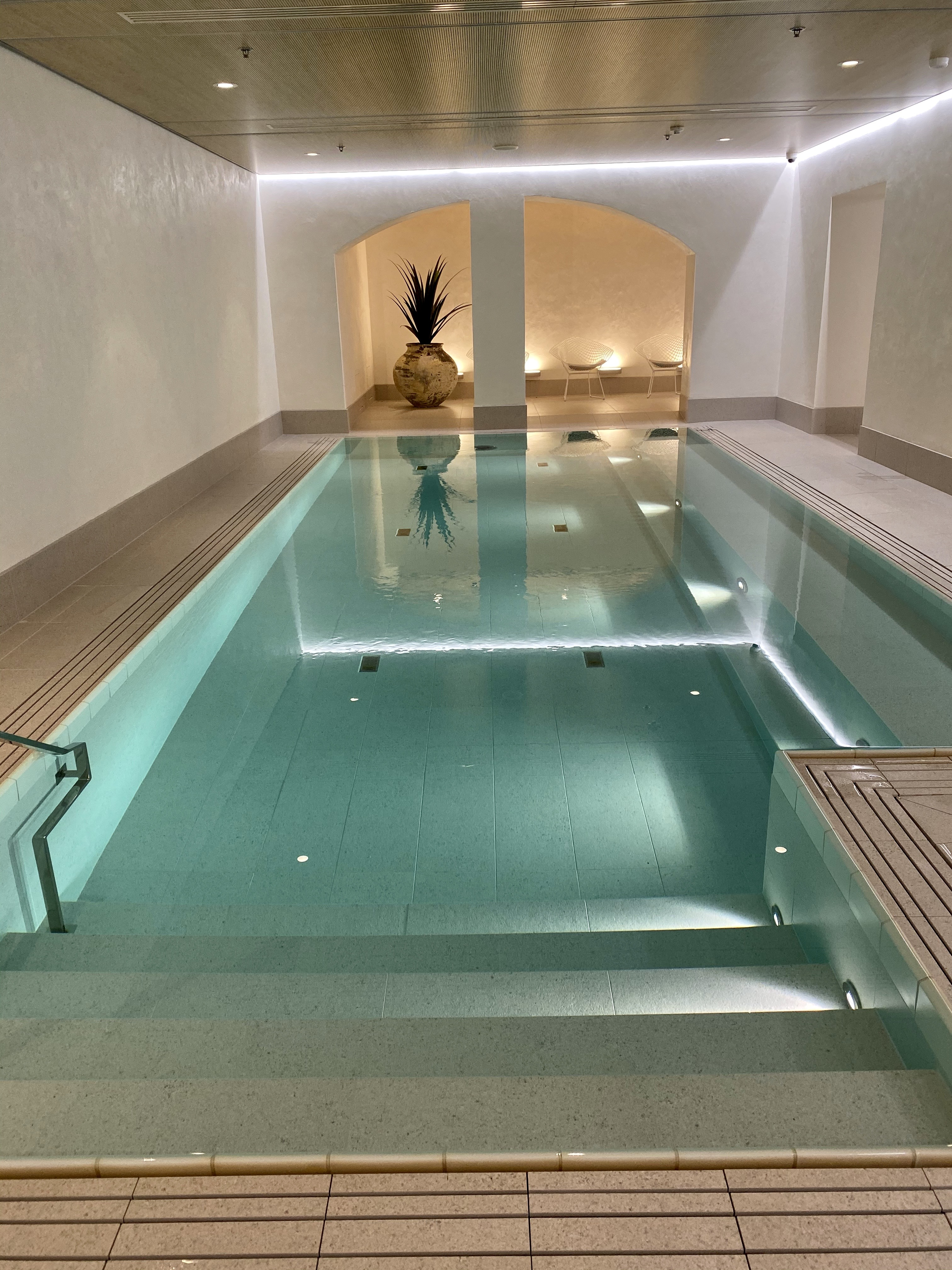 The spa at Hotel St. George Helsinki.