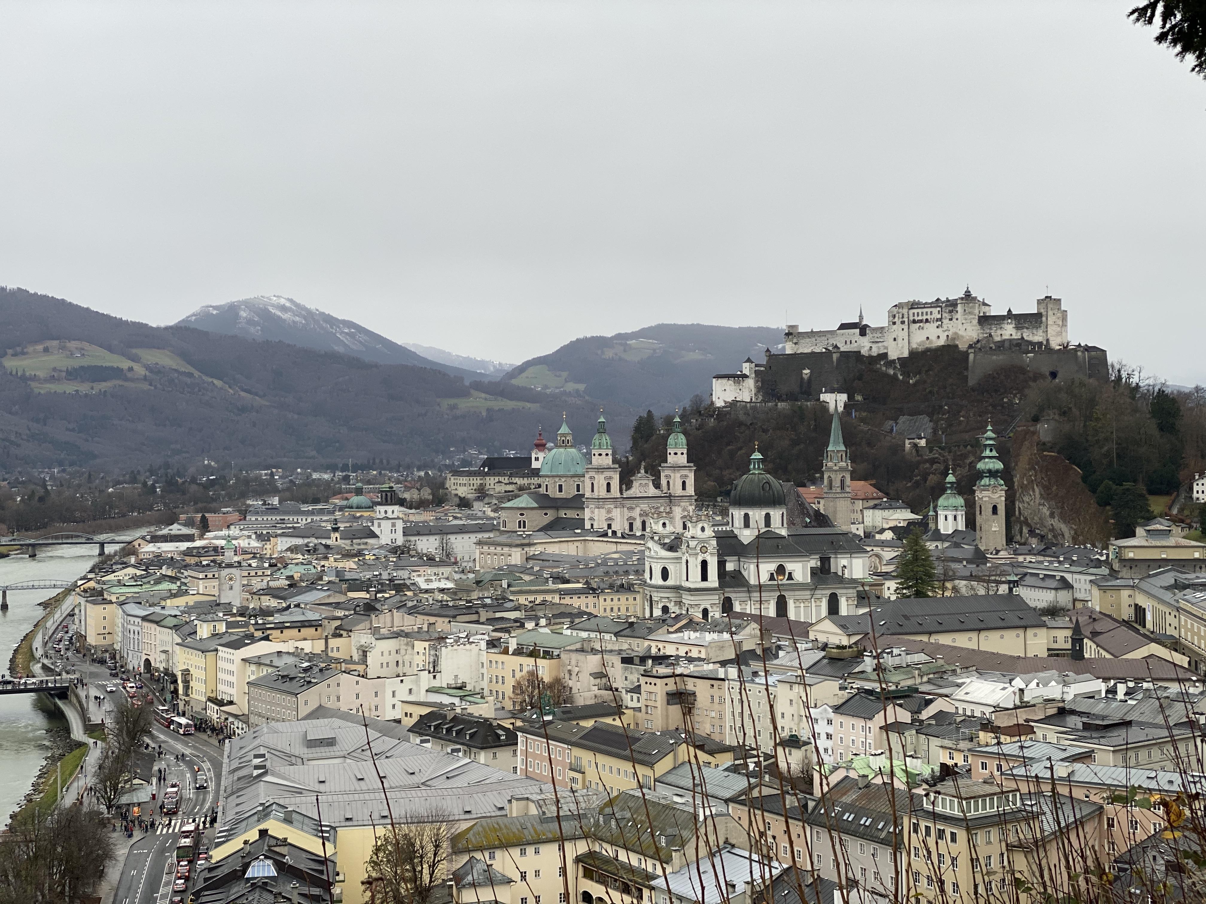 Views over Salzburg.