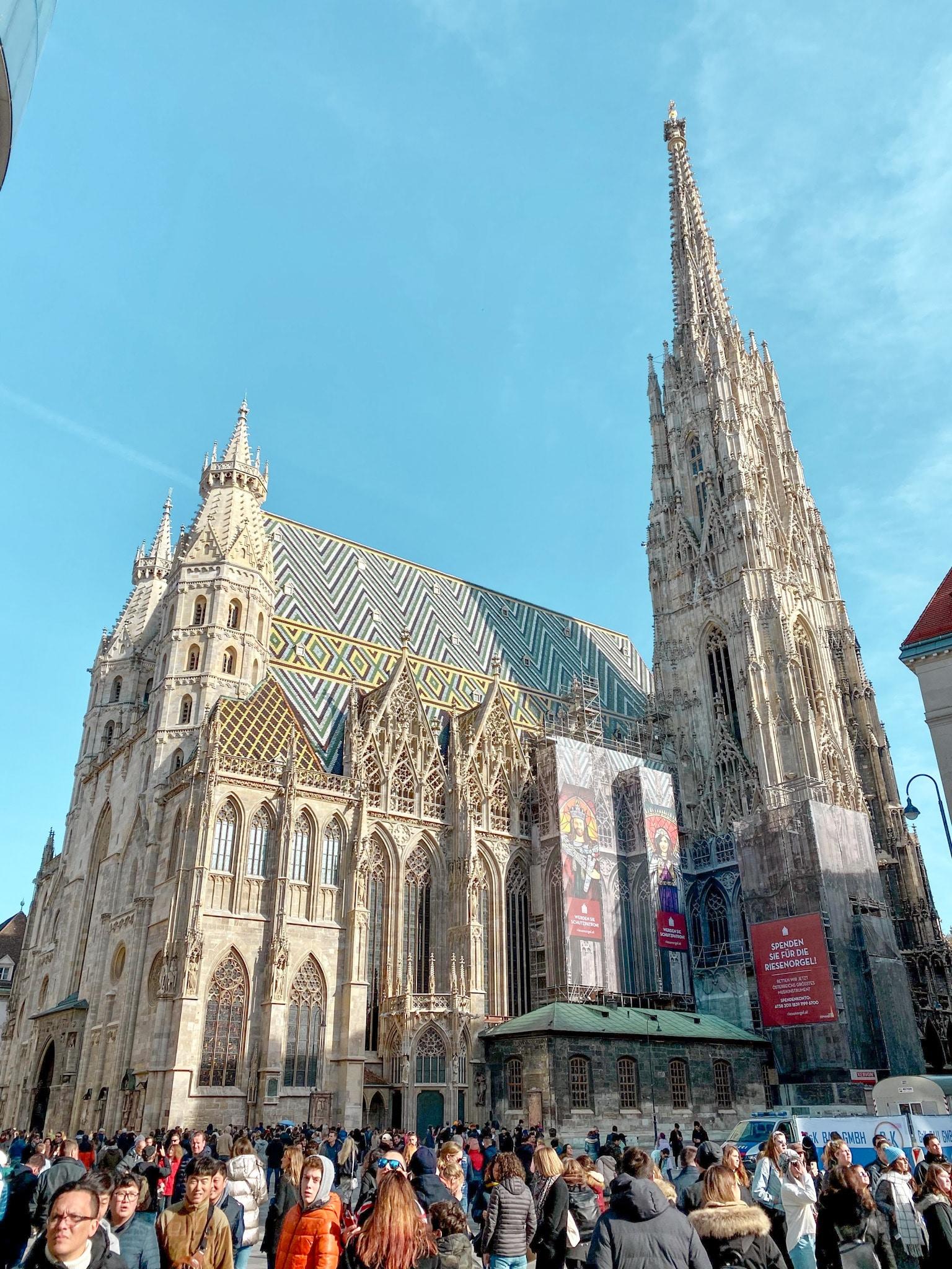 St. Stephen's Cathedral (Stefansdom) in Vienna, Austria.
