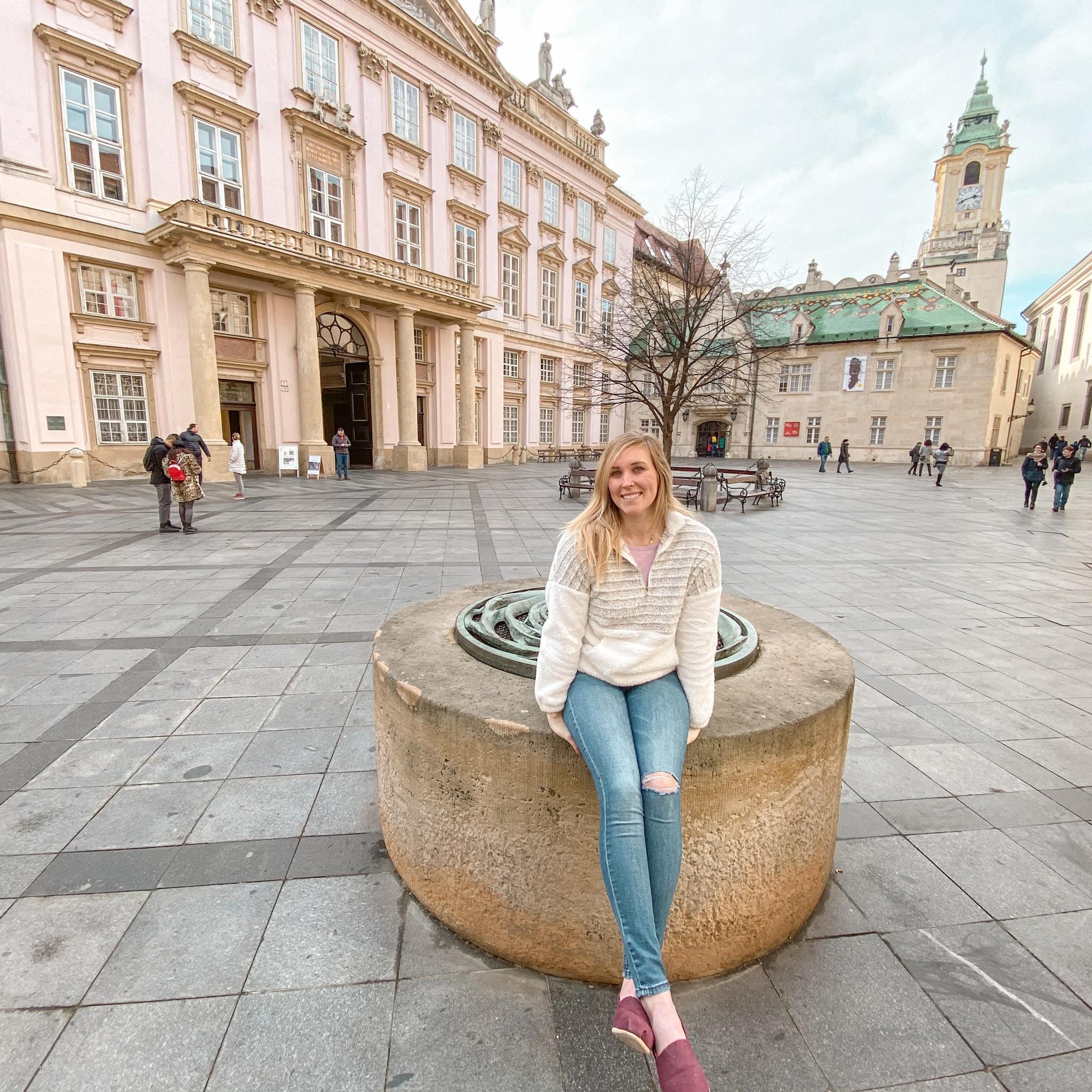 Erinn in Bratislava, Slovakia.