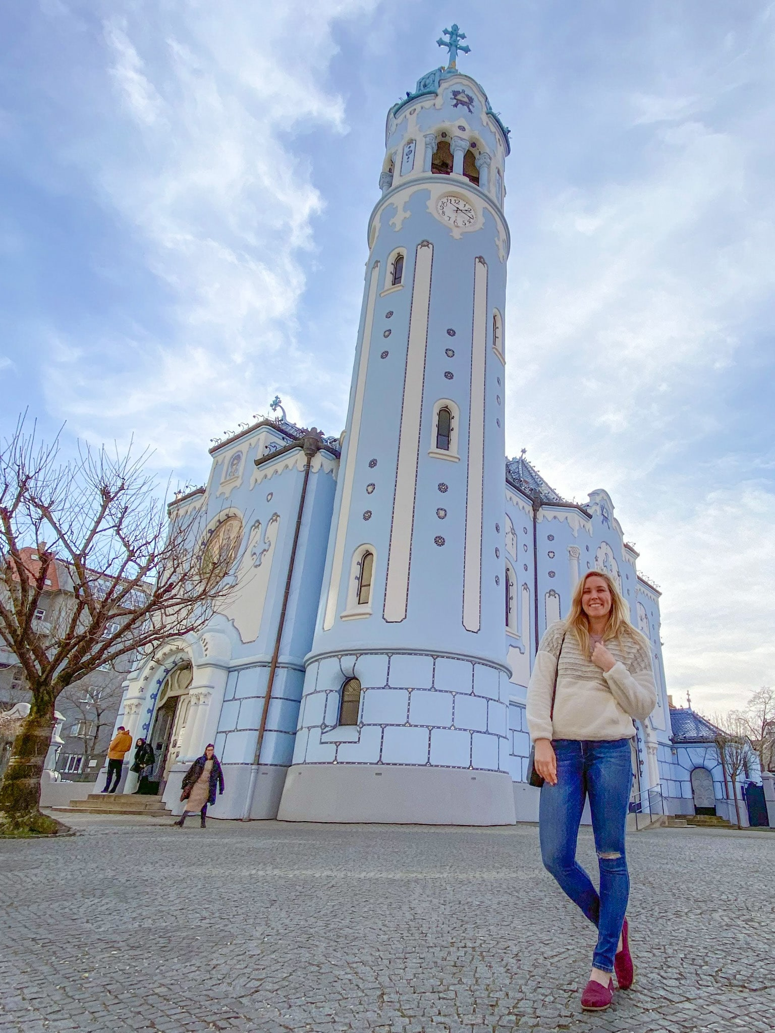 The Blue Church (the Church of St. Elizabeth of Hungary) in Bratislava, Slovakia.
